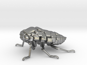 Cicada! The Somewhat Square-ish Sculpture in Natural Silver
