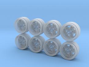 VDA 9-0 Hot Wheels Rims in Smoothest Fine Detail Plastic