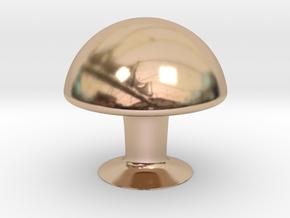 Mushroom in 14k Rose Gold