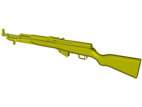 1/15 scale SKS Type 45 rifle with bayonet x 1 in Smooth Fine Detail Plastic