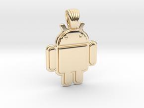 Bugdroid [pendant] in 14K Yellow Gold