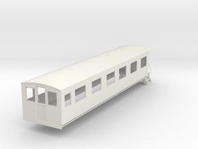 o-43-bermuda-railway-pullman-coach in White Natural Versatile Plastic