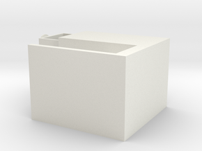 Milky Way NO.2 (Storage Box) in White Natural Versatile Plastic