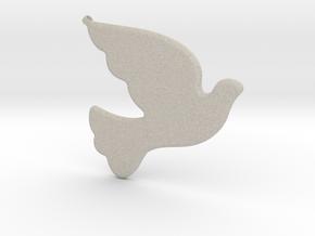 Bird-Dove-01 in Natural Sandstone