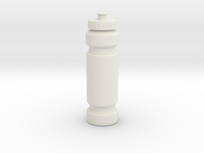 1/3rd Scale Water Bottle in White Natural Versatile Plastic