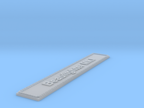 Nameplate Beaufighter Mk.I in Smoothest Fine Detail Plastic