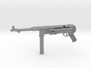 1/3 Scale MP40 Machine Gun in Gray PA12
