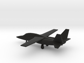 Textron AirLand Scorpion in Black Natural Versatile Plastic: 1:200