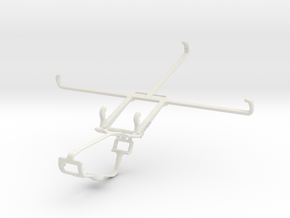 Controller mount for Xbox One & BlackBerry Playboo in White Natural Versatile Plastic