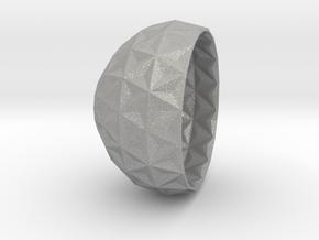 concave bowl v3 in Aluminum