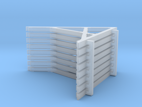 O Freight House Roof Brackets in Smooth Fine Detail Plastic