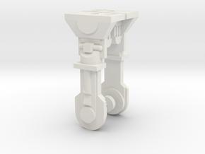 "PRHI Kenner Astromech Leg Sprue 6"" scale in White Natural Versatile Plastic"
