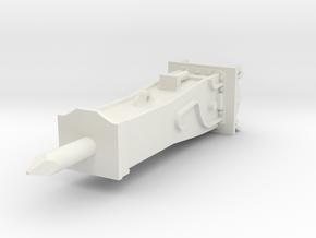 sloophamer CW30 18-30 ton in White Natural Versatile Plastic: 1:50