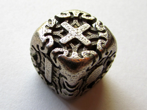 Fudge Art Nouveau Die6 in Stainless Steel