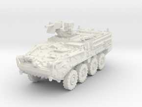 M1127 Stryker RV scale 1/87 in White Natural Versatile Plastic