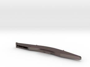 Sennebogen 835-D Banana-Boom 10,8m in Polished Bronzed-Silver Steel: 1:50