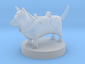 Battle Corgi in Smooth Fine Detail Plastic