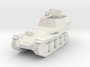 Flakpanzer 38 t scale 1/87 in White Natural Versatile Plastic