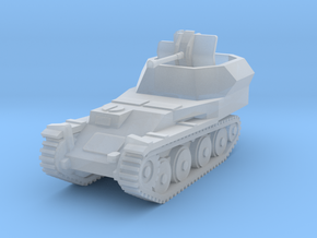 Flakpanzer 38 t scale 1/160 in Smooth Fine Detail Plastic
