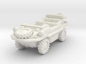 Schwimmwagen scale 1/100 in White Natural Versatile Plastic