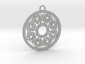 Ornamental pendant no.2 in Aluminum