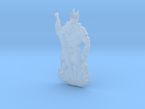 Gwyn, Lord of Sunlight - Keychain in Smoothest Fine Detail Plastic