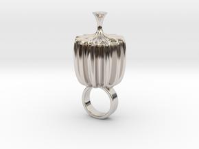 Zruco - Bjou Designs in Rhodium Plated Brass