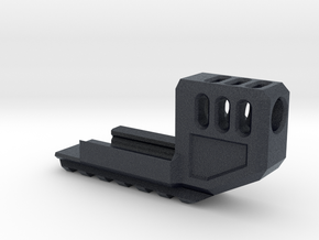 MJW Airsoft G17/18 Compensator V2 in Black PA12