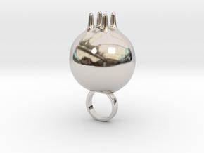 Prosnot - Bjou Designs in Rhodium Plated Brass
