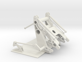 Canopy Lift Mechanism F-20 Tigershark F-5 Freedom  in White Natural Versatile Plastic: 1:10