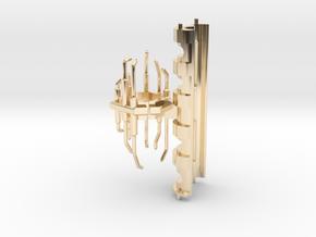 MPP V1 Crystal holder (Roman's) in 14k Gold Plated Brass