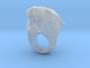 tiger ring s8.5 in Smooth Fine Detail Plastic