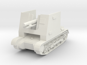 sturmpanzer I scale 1/56 in White Natural Versatile Plastic