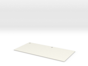 1-10 Schuerzen planchas (x2 per side) in White Natural Versatile Plastic
