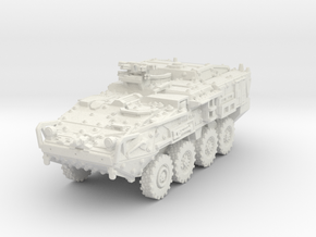 M1133 Stryker MEV scale 1/87 in White Natural Versatile Plastic