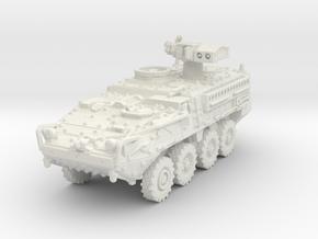 M1134 Stryker ATGM scale 1/100 in White Natural Versatile Plastic