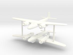 1/200 Focke-Wulf Ta-254 (x2) in White Processed Versatile Plastic