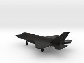 Lockheed Martin F-35A Lightning II in Black Natural Versatile Plastic: 1:200