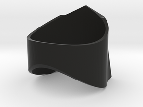 Decepticon-ring (US Size 13) in Black Natural Versatile Plastic: 13 / 69