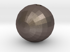 bowling in Polished Bronzed-Silver Steel