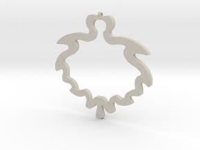 Geometric Necklace-33 in Natural Sandstone