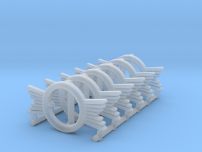 1:6 BUCKLE fine detail plastic X6 in Smooth Fine Detail Plastic