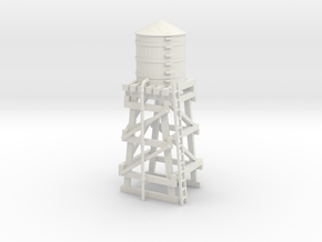 Water Tower in White Natural Versatile Plastic: 1:220 - Z