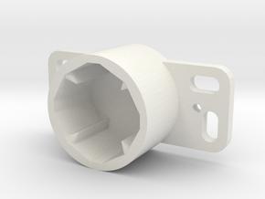 kitchen drawer rail support bracket 65541 in White Natural Versatile Plastic