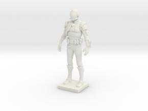 Printle V Homme 1847 - 1/24 in White Natural Versatile Plastic