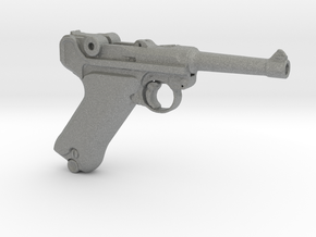 1/9 Scale Luger  in Gray Professional Plastic