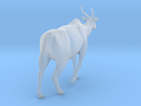 Common Eland 1:32 Walking Female in Smooth Fine Detail Plastic