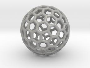 Fullerene-92 in Aluminum: Extra Small