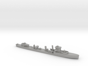 HMS Vega 1:3000 r2 WW2 naval destroyer in Aluminum