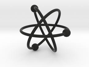 Atom in Black Premium Versatile Plastic